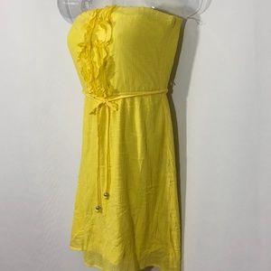 🌞🌞Speechless yellow summer party dress ruffles